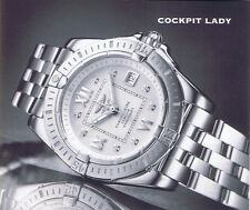 BREITLING COCKPIT LADY A71356 ANLEITUNG INSTRUCTIONS I245