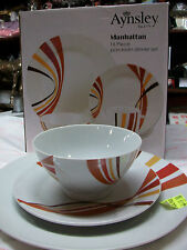 Aynsley  Manhattan 16 piece  dinner set half price offer SALE BNIB
