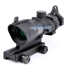 Hunting4X32 Cross Reticle Optic Sight Scope Mount 20mm Picatinny Rail For Rifle