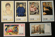 Timbre ALLEMAGNE RDA / GDR GERMAN Stamp - Yvert Tellier n°963 à 968 n**(Cyn22)