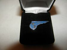 PAN AM WING LAPEL PIN PAN AMERICAM AIRLINE CARIBBEAN SOUTH AMERICAN ROUTE NEW !
