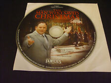 The Man Who Saved Christmas (DVD, 2008) - Disc Only!!!