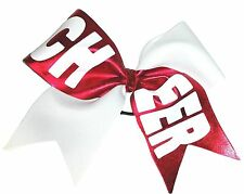 CH.EER.  School colors Personalized Cheer Hair Bow