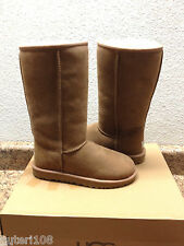 UGG CLASSIC TALL CHESTNUT FULLY FUR LINED SUEDE Boot US 11 / EU 42 / UK 9.5