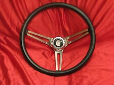1955 to 1989 MERCURY STEERING WHEEL + HORN BUTTON NEW