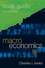 Study Guide: for Macroeconomics, Second Edition