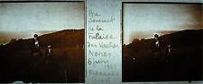 stéréoscopique photographie Villers-sur-Mer Falaises des Vaches Noires juin 1927