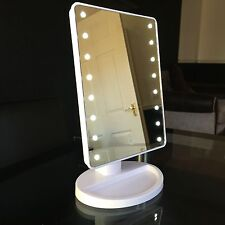 Touch 16 LED Light Illuminated Make Up Cosmetic Bathroom Shaving Vanity Mirror