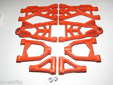 YY-MadMax HPI KM ROVAN BAJA 5T 5SC Complete A-arm Set Orange