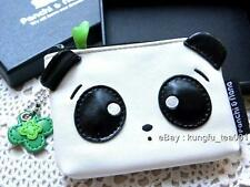 Panchi Panda Die Cut PU Coin Bag Card Holder Wallet Purse Pouch