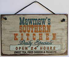 Mawmaw s Sign Southern Kitchen Grandma Fried Country South Barbecue Cook ing #1