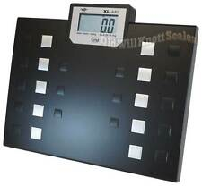 MY WEIGH XL440 TALKING DIGITAL BATHROOM BARIATRIC OBESE PEOPLE BODY WEIGHT SCALE