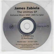 (GJ574) James Zabiela, The Utilities EP - 2005 DJ CD