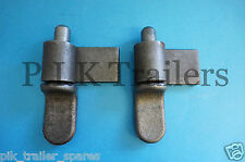 "FREE P&P* 2 x 2"" Tailgate Drop Side Hinge and Gudgeon Pin Trailer & Pickup"