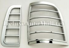 Chrome Tail Light Bezels Compatible with 2003-2005 Lincoln Aviator (4 pcs set)