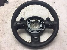 15 MINI COOPER S JCW R56 R58 OEM BLACK STEERING WHEEL RED STITCHING 12 13 14