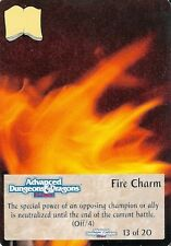Spellfire - Artifacts Chase #13 - ARc/13 - Fire Charm - D&D