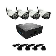 4CH HD 1080P Wireless WIFI IP Camera Security System 8CHNVR KIT Outdoor Sony IMX