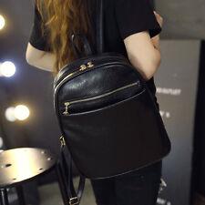 Fashion Leather School Bag Travel Backpack Satchel Women Shoulder Bags Rucksack