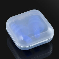 Silicone Ear Plugs Box Anti Noise Snore Comfortable Earplugs For Study Sleep