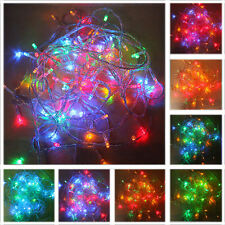 5X Multi Color 10M 100LED Christmas Fairy Party String Lights Wedding Decor USA
