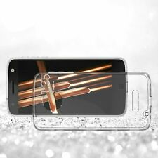 Poetic Clear Transparent TPU Grip Bumper Slim-Fit  Case For Motorola Moto Z