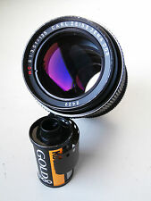Carl Zeiss Jena DDR MC 135mm F3.5 Sonnar Portrait LENTE CON M42 Mount