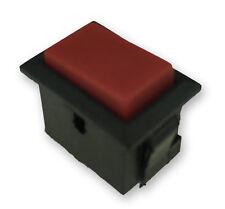 Wipptaster, Rot, Mini_ Einbau, ohne Kontrolle. 1x Ein, 250V / 16A