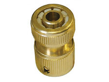"New Brass Hozelock Garden Hose Pipe Quick Release Connector Socket For 1/2"" Hose"