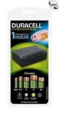 DURACELL Hi-Speed Universal Multi-Battery Charger - AA, AAA, C, D & 9V - DURCEF2