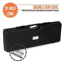 Xhunter 35 Inch 90cm Hard Gun Carry Case For Double Shotgun w/ Interlocking Foam