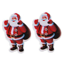 250pcs Christmas Backpack Santa Claus Wood Buttons Sewing Charms Scrapbooking C