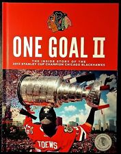 One Goal II 2 Chicago Blackhawks + 2013 Stanley Cup Champions Puck 17 Seconds