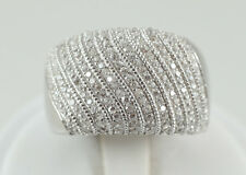 Sterling Silver and WHITE Cubic Zirconia Ring