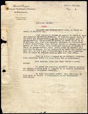 █ Facture 1925 Société Anonyme Des Hauts Fourneaux & Fonderies de Brousseval █