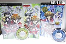 LOT 2 JEUX YU-GI-OH GX TAG FORCE 1&2 PSP TBE