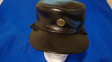 True Vintage Leather Ski Cap Hat