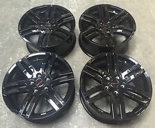 "18"" GENUINE SPORTLINE ALLOY WHEELS 5X120 TO FIT VW TRANSPORTER T5 GLOSS BLACK"