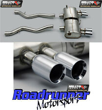 Milltek BMW M3 E90 E92 E93 Exhaust System Stainless Polished Quad Tails SSXBM931