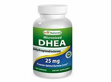 Best Naturals Micronized DHEA 25 mg 180 Caps Boosts Metabolism Healthy Aging
