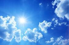 Fototapete Blauer Himmel Nr. 353 Größe: 400x280cm Wolken Sonne Tapete Blau