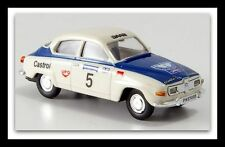 "wonderful modelcar SAAB 96 ""RALLY 1000 LAKES"" #5 1965 - scale HO  1/87"
