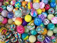"12 Bouncy Balls 1"" Pinata Party Bag Fillers Toys Favors Super Bounce Superballs"