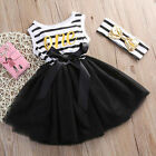 Flower Kids Girl Princess Bow Knot Dress Toddler Baby Party Pageant Tutu Dresses