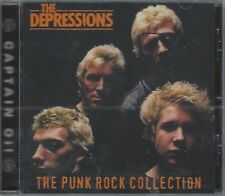 THE DEPRESSIONS - THE PUNK ROCK COLLECTION - (still sealed cd) - AHOY CD 66