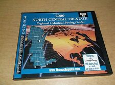 2000 North Central Tri-State Regional Industrial Buying Guide CD-ROM *FREE SHIP*