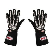 Bell Skeleton Racing Driving Gloves 2-Layer SFI5 NEW Black S M L XL XXL