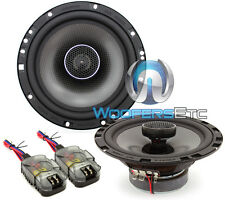 "MEMPHIS MCX620 6.5"" CAR AUDIO 2-WAY ALUMINUM ALLOY TWEETERS COAXIAL SPEAKERS NEW"