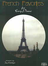 FRENCH FAVORITES MADE FOR EASY PIANO ON SALE