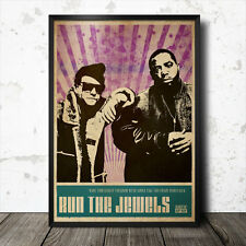 Run The Jewels Hip Hop Art Poster Rap Music MF Doom Mos Def J Dilla DJ Shadow